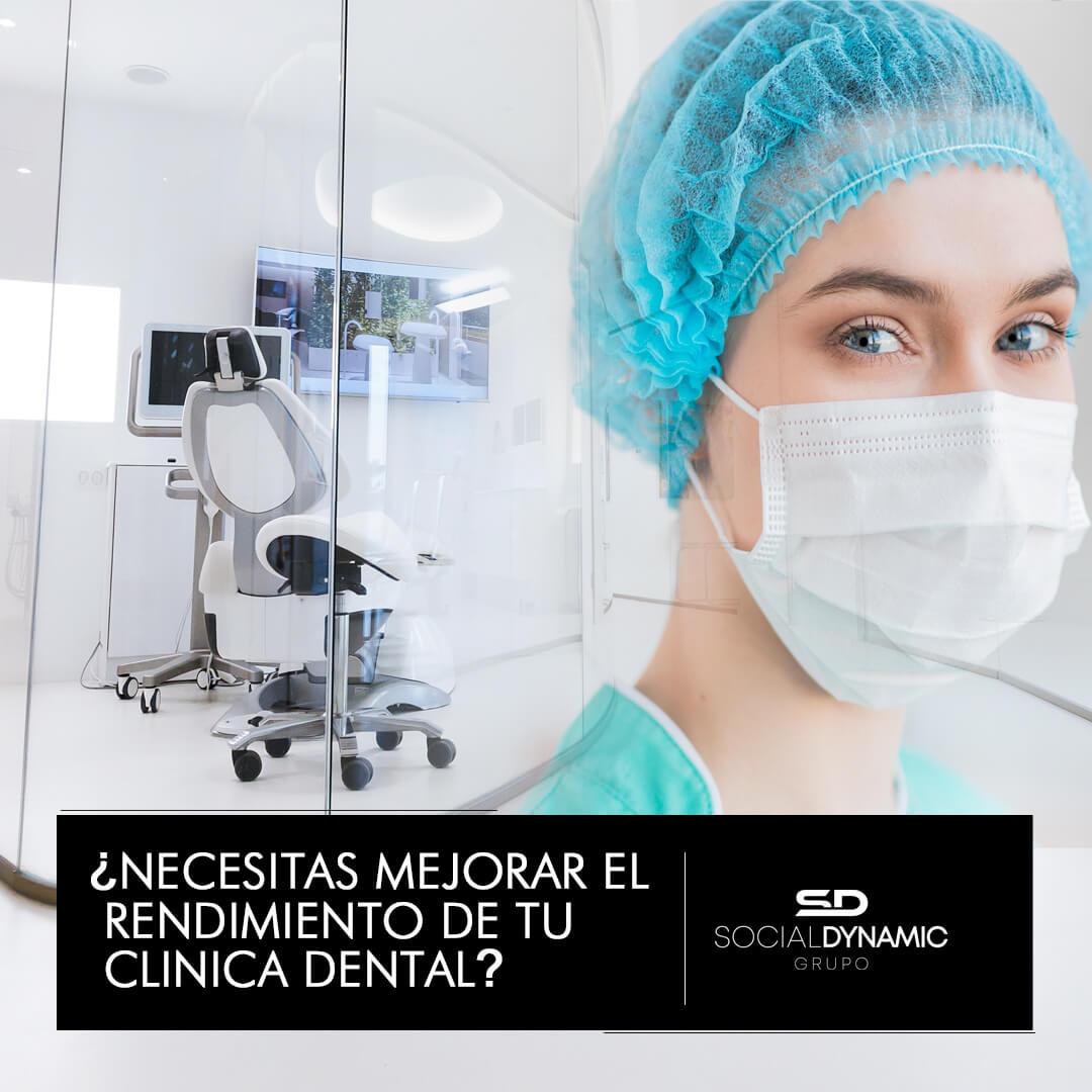necesitas mejorar el rendimiento de tu clinica dental